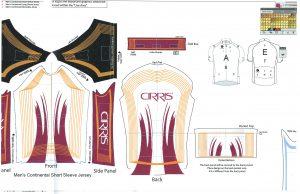 Bike kit layout