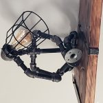 The thinker Steampunks lamp