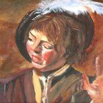 Franz Hals copy 16x20 acrylic on canvas